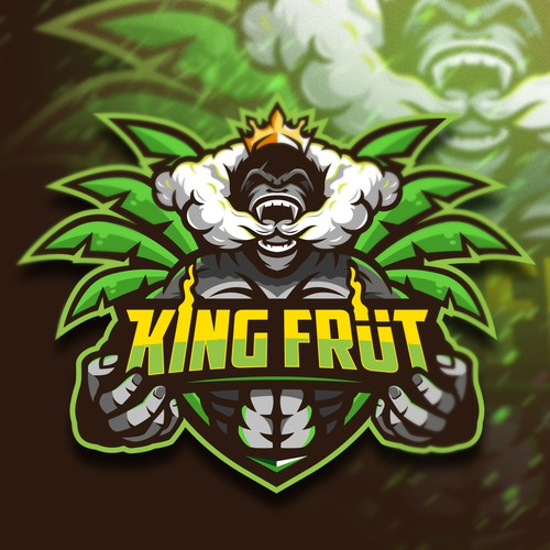 Emblem logo with the title 'King Früt'
