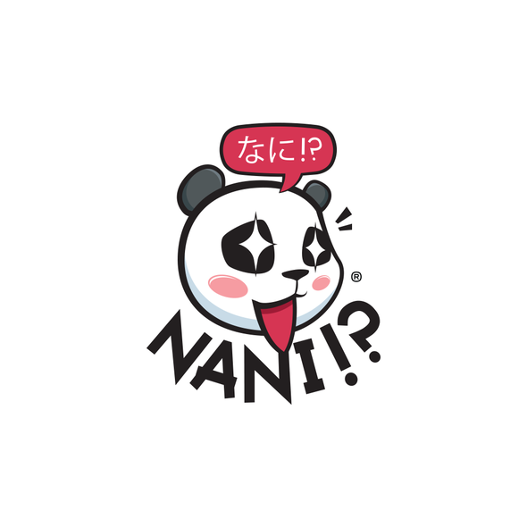 Shop design with the title 'Cute Japanese Logo'