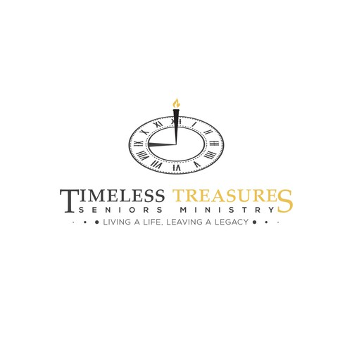 "Fortune logo with the title 'Logo for ""Timeless Treasures""'"