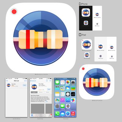 ResistorVision app icon