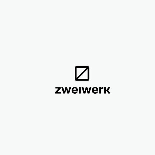 Architect logo with the title 'Architects typo logo'