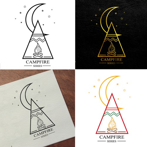 Teepee logo with the title 'Logo Design'
