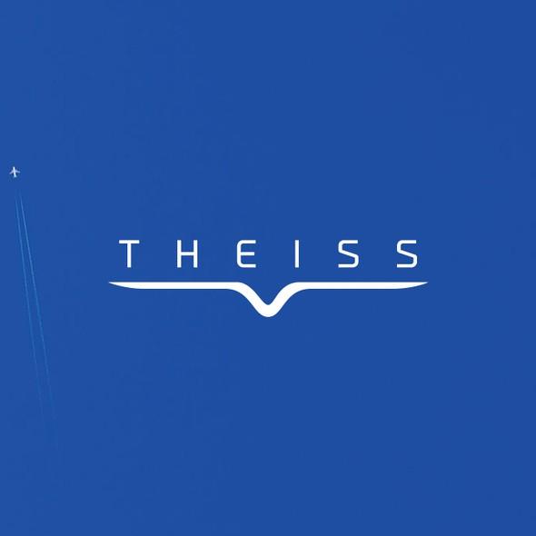 Remote logo with the title 'UAV logo Design'