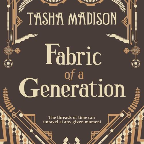 Futuristic book cover with the title 'Design a Unique, Magical Book Cover for a YA Fantasy Novel'