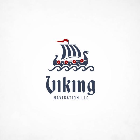 Vessel logo with the title 'Viking Navigation LLC'