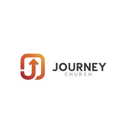 Journey logo with the title 'Modern logo for Journey Church'