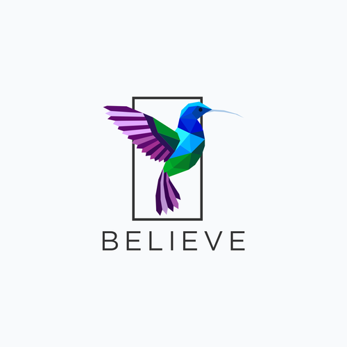 Believe design with the title 'Believe business and consulting logo'