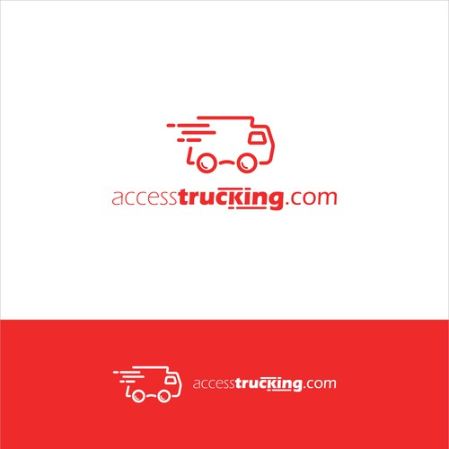 Truck brand with the title 'Logo concept for Truck Company'