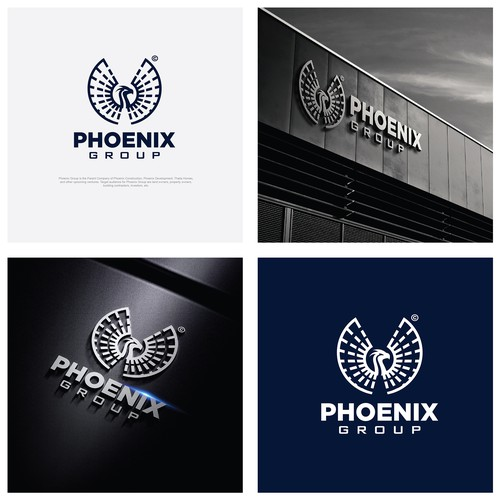 Phoenix logo with the title 'Phoenix Group logo'