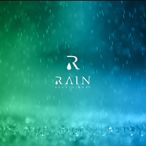 R logo with the title 'Rain'