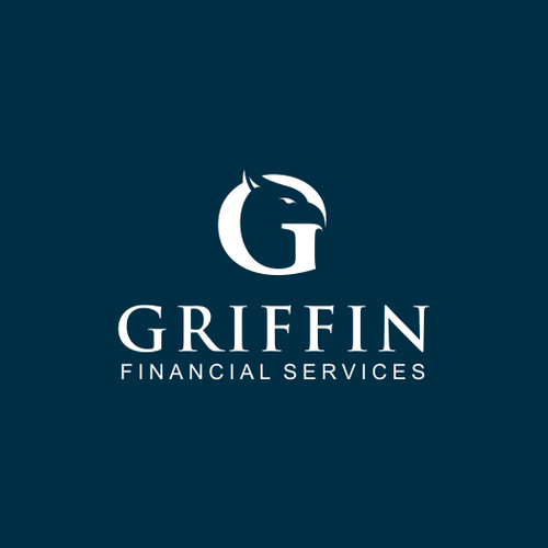 G logo with the title 'Create the next logo for Griffin Financial Services'