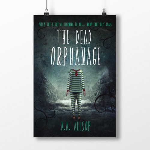 Gothic design with the title 'The Dead Orphanage'