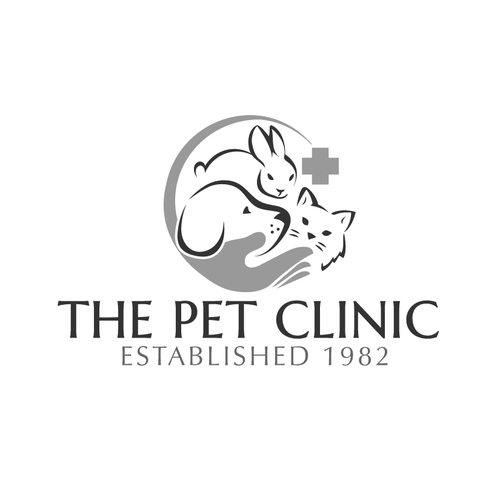 Patient logo with the title 'Pet Clinic'
