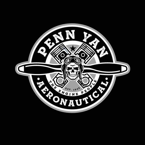 Piston design with the title 'Penn Yan Aeronautical'