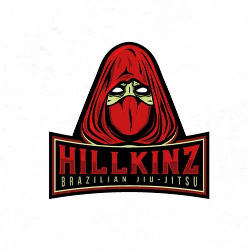 Jiu-jitsu design with the title 'Bold logo for Combat Sports Team.'