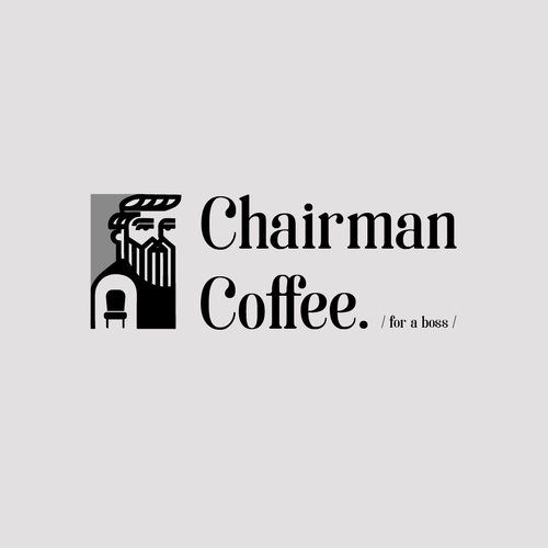 Chair brand with the title 'Chairman Coffee'