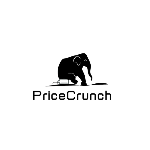 Price logo with the title 'PriceCrunch, elephant '