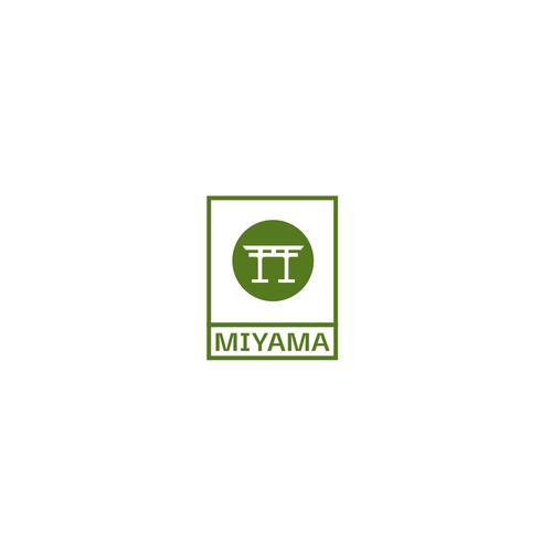 Boba logo with the title 'Japanese Bubble Tea Logo'
