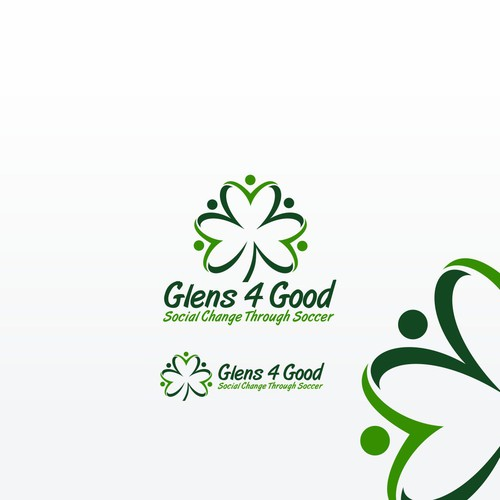 Academy logo with the title 'Glens 4 Good'