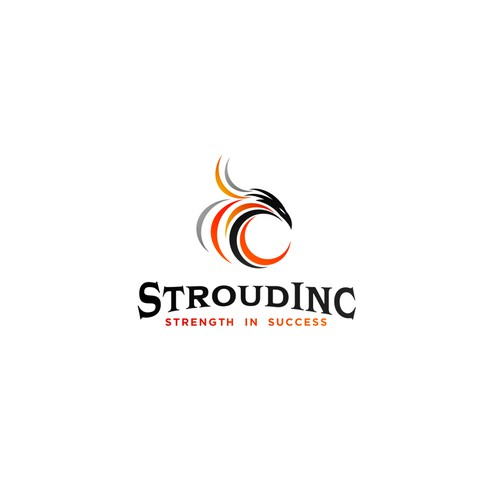 Strength logo with the title 'Logo for Stroud Inc.'