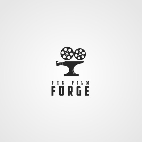 Foundry logo with the title 'Logo for film company'