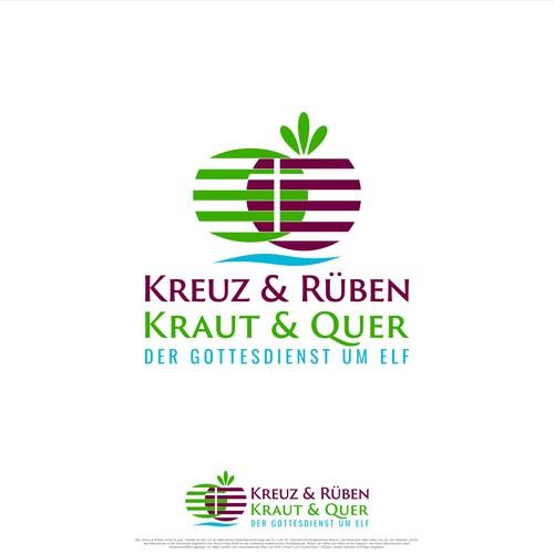 German logo with the title 'Kreuz & Rüben, Kraut & Quer'