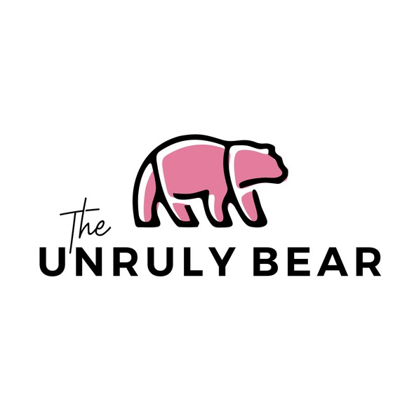 Household logo with the title 'Logo Designs for The Unruly Bear'