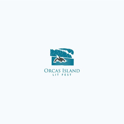 Rain logo with the title 'Orca Island'