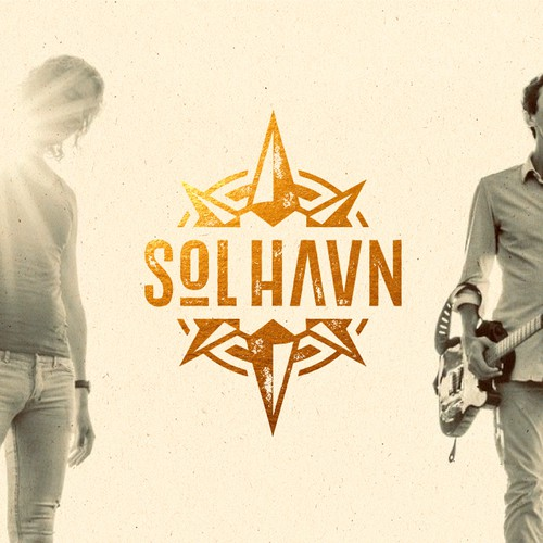Band logo with the title 'Sol HΛVN'