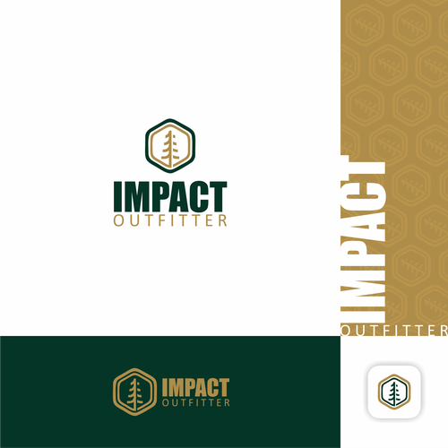 Campaign logo with the title 'Impact Outfitter'