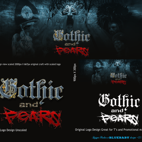 Rock brand with the title 'Logo/Banner for GothicAndFears.com'