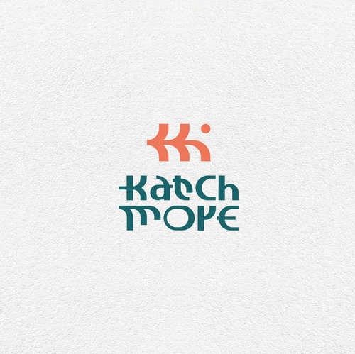 Lifestyle design with the title 'Katch More'