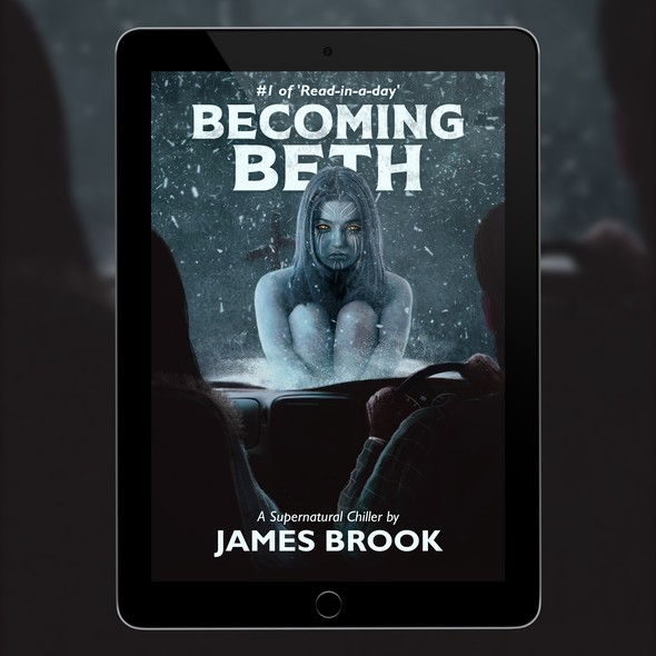 Supernatural book cover with the title 'Becoming Beth'