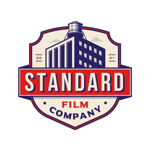 Factory design with the title 'Standard Film Company'
