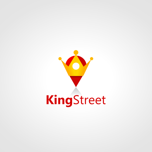 GPS logo with the title 'King Street logo'