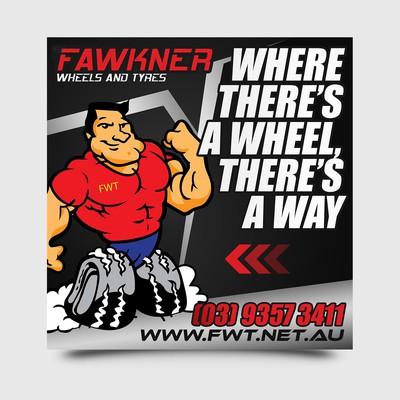 Fawkner Wheels Signage