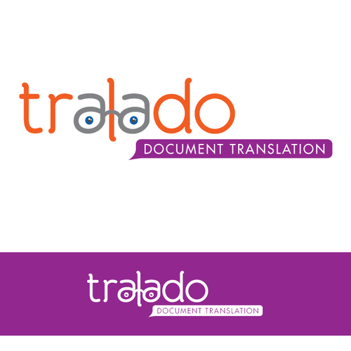 Translation design with the title 'Help Tralado with a new logo'