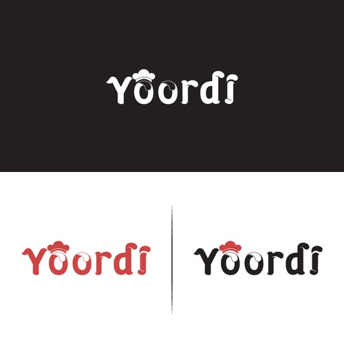 Towel logo with the title 'Yoordi'