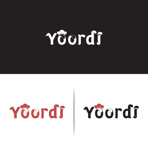 Towel logo with the title 'Yoordi'