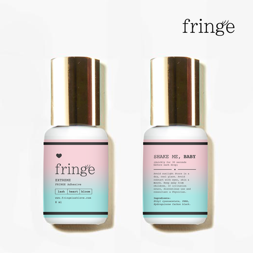 Girly design with the title 'Labe Fringe'