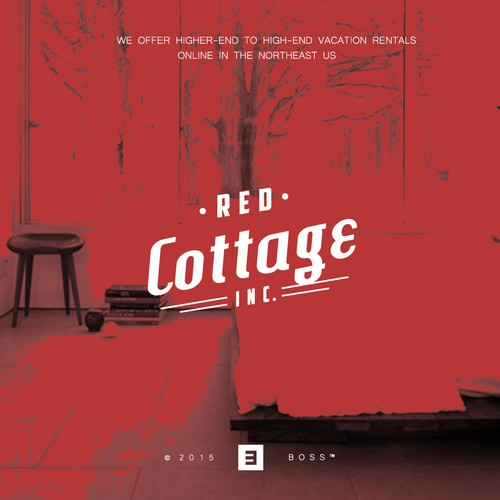Safety logo with the title 'RED COTTAGE | B O S S ™ '