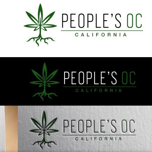 Dispensary design with the title 'Logo Concept for Marijuana Dispensary'
