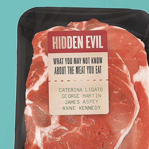 Diet design with the title 'Hidden Evil'