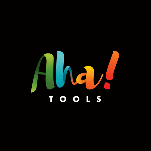 Company design with the title 'Aha Tools'