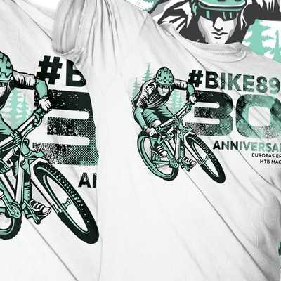 BIKE Magazin Jubiläums T-Shirt