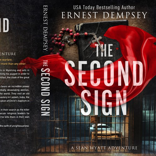 Religious book cover with the title 'The Second Sign'