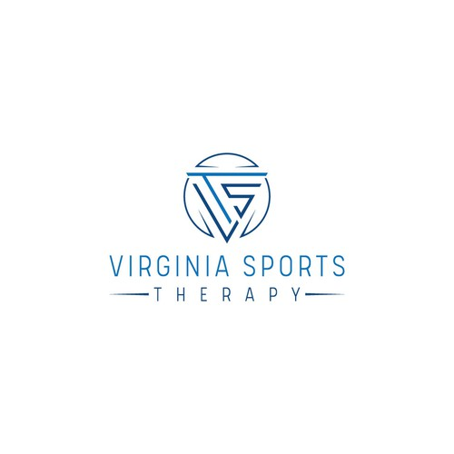 Virginia design with the title 'Virginia Sports Therapy'