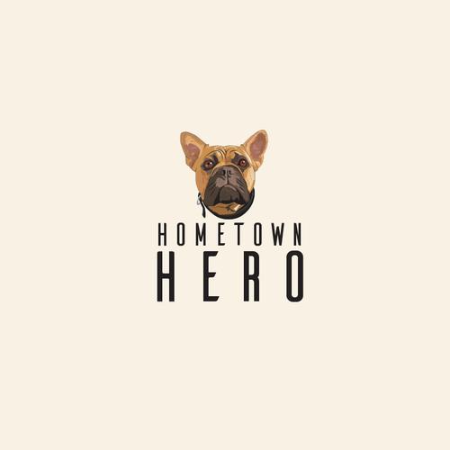Good logo with the title 'Bold Dog logo'
