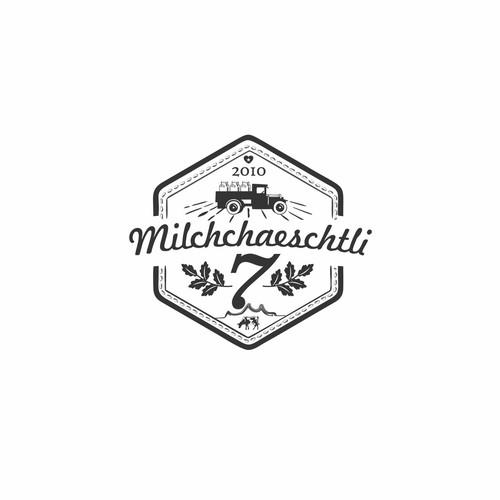 Milk brand with the title 'Milchchaeschtli'