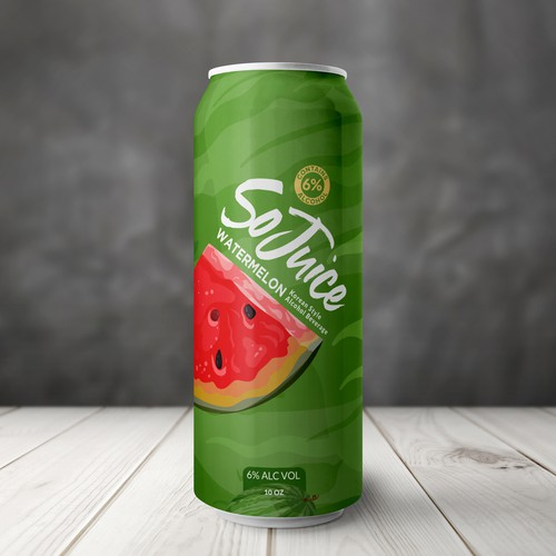 Product label with the title 'Juice Label'